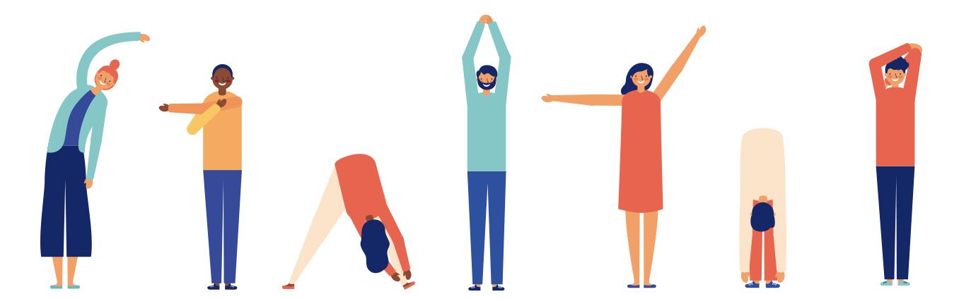 crampe musculare stretching